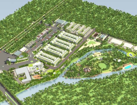 Chợ Đầu Mối Khu vực Biên Giới và Khu sinh thái 2015