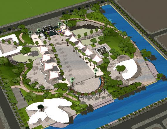 Dự án mở rộng công viên Văn Miếu